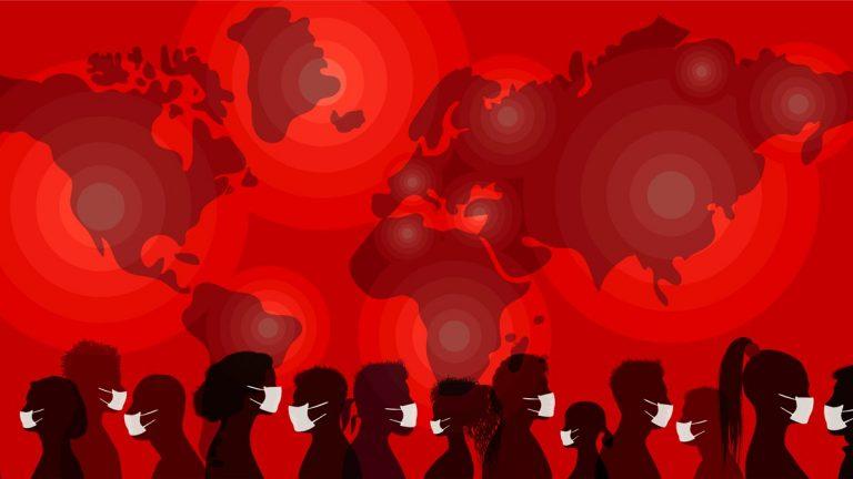 La diffusione del coronavirus nel mondo in tempo reale