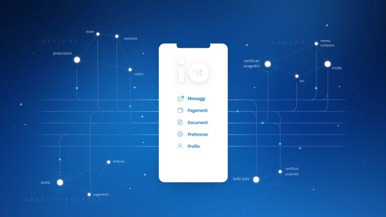 IO, l'app per interagire con la Pubblica Ammunistrazione