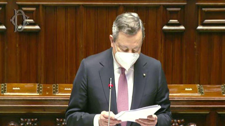 La grande sfida di Mario Draghi. Ecco il suo intervento integrale alla Camera sul PNRR