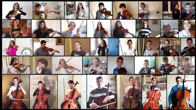 A Portici (Napoli), grazie a Libera, nasce l'Orchestra Giovanile NoteLegali