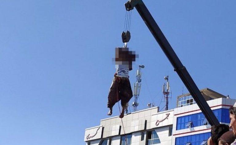 I talebani impiccano quattro presunti malviventi ad Herat